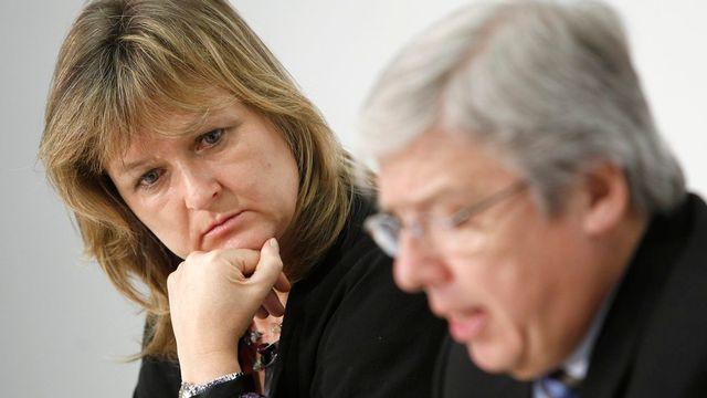 Valérie Kasteler-Budde, coprésidente du parti évangélique genevois. [Peter Klaunzer - Keystone]