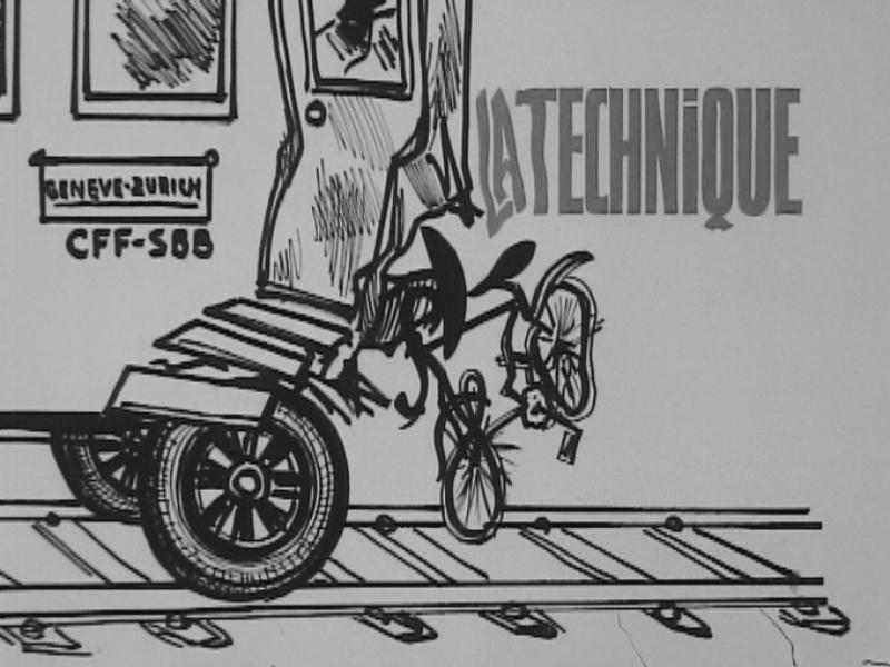 Des wagons à pneus - rts.ch - C'était hier