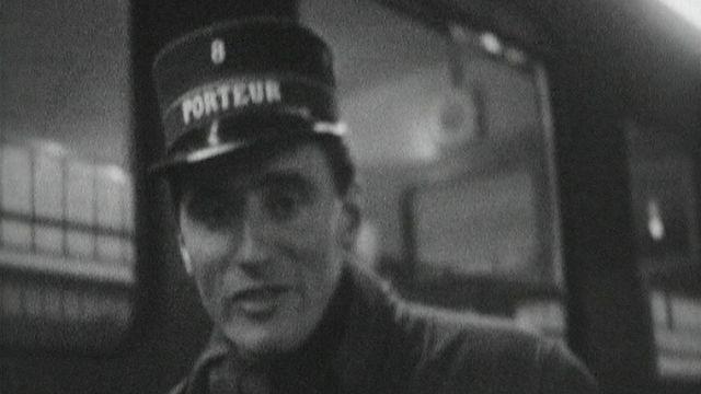 Bilan 1963 aux CFF. [RTS]