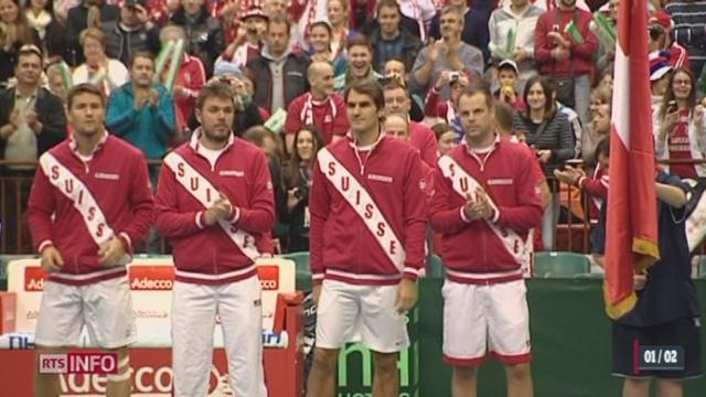 Tennis - Coupe Davis: la Suisse a une belle carte à jouer [RTS]