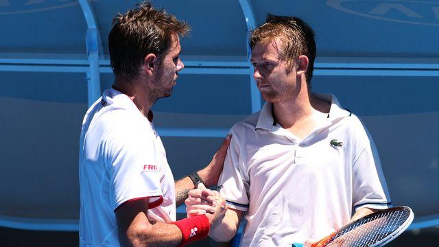Wawrinka retrouvera Golubev, qu'il avait battu au premier tour de l'Open d'Australie. [David Crosling - Keystone]