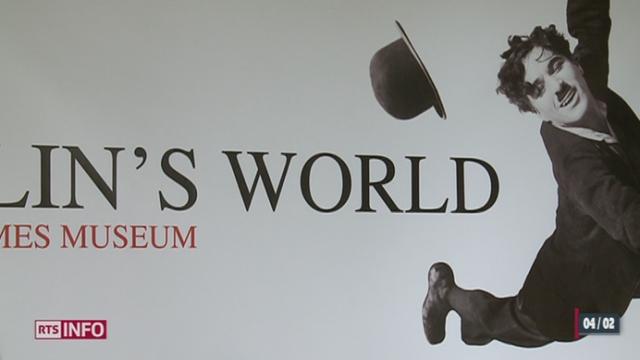 Le Musée Chaplin's World ouvrira ses portes à Corsier-sur-Vevey au printemps 2016 [RTS]