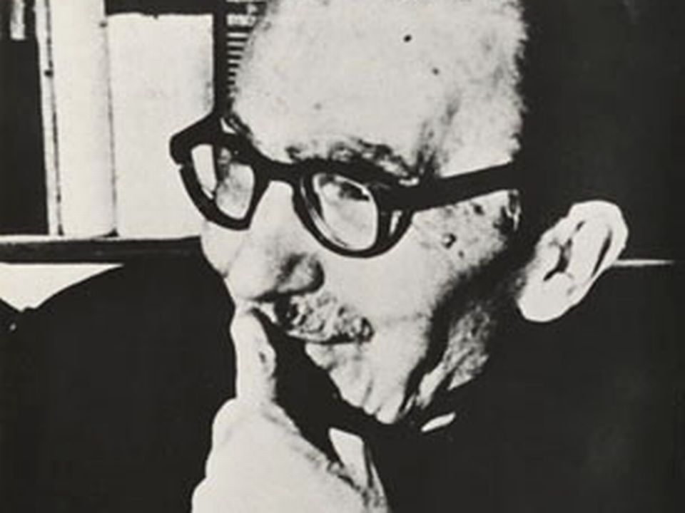 Portrait de l'écrivain Nikos Kazantzakis. [Kazantzakis Museum - CC]
