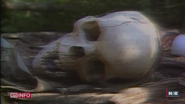 Le génocide de 1994 est un des pires massacres de l'histoire qui a abouti à la mort d'au moins 800'000 Tutsis du Rwanda [RTS]