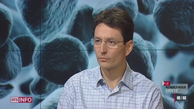 L'invité: Yves Thomas, directeur du Centre national de référence de la grippe, nous parle de ce virus [RTS]