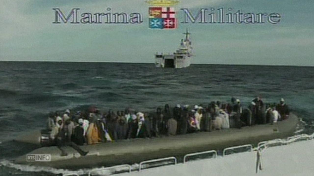 Un millier de réfugiés sauvés près de Lampedusa [RTS]