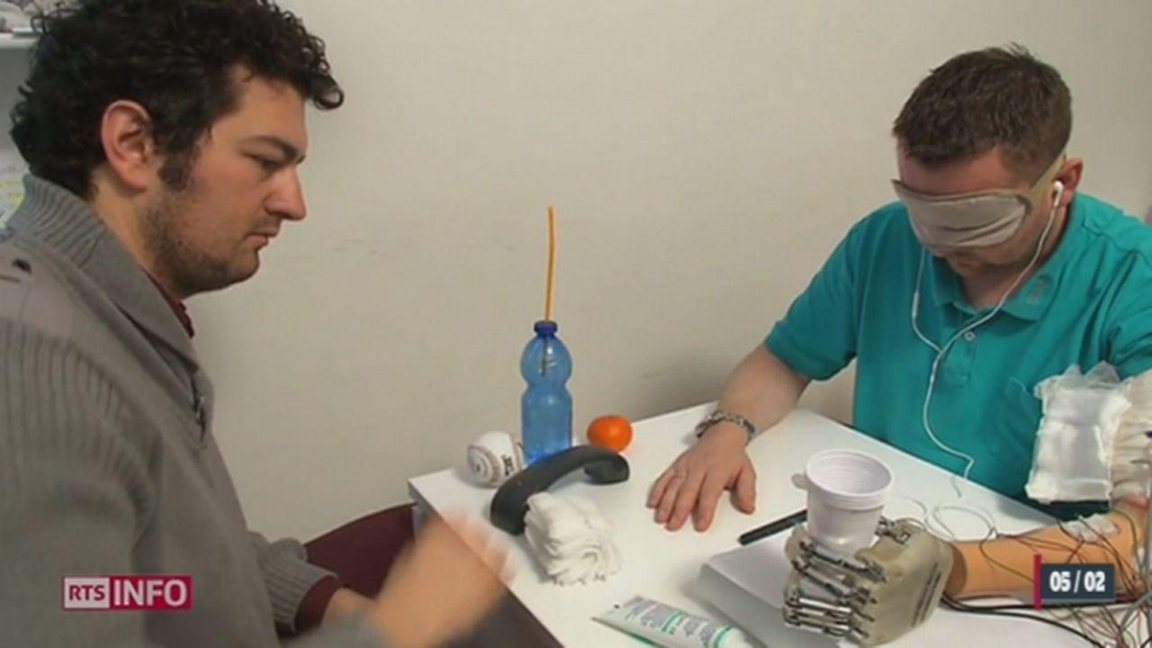 Une main bionique permet de redonner le sens du toucher [RTS]