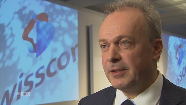 Interview d'Urs Schaeppi, directeur de Swisscom [RTS]