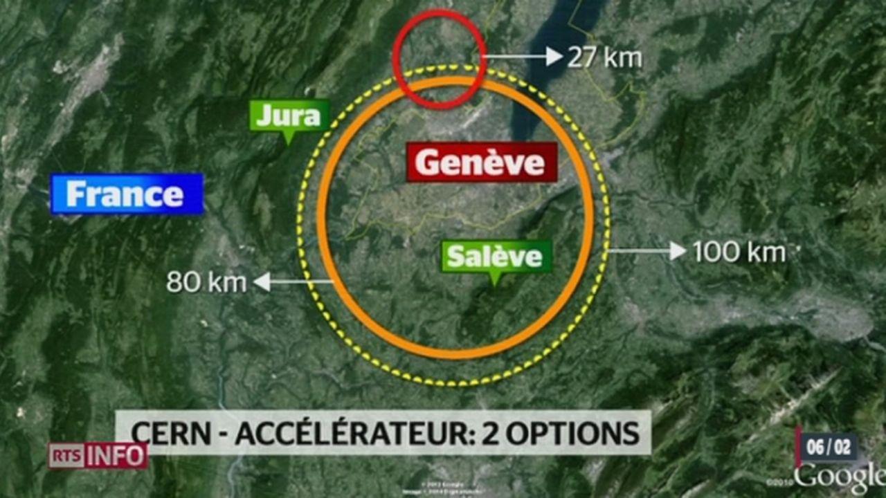 Le CERN étudie un nouvel accélérateur de particules [RTS]
