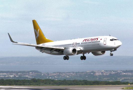 La tentative de détournement a eu lieu à bord d'un Boeing de la compagnie turque Pegasus. [DR]