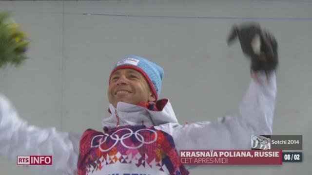 JO - Sotchi: le Norvégien Ole Einar Bjorndalen compte désormais 12 médailles au aux Jeux d'hiver [RTS]