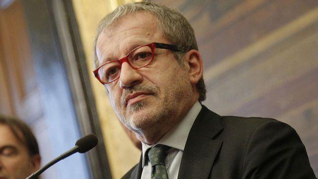 Roberto Maroni, ancien chef de la Ligue du nord et actuel président de la région Lombardie. [Giuseppe Lami - EPA/Keystone]