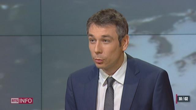 Approbation de l'initiative contre l'immigration de masse: le point avec Pierre-Olivier Volet [RTS]