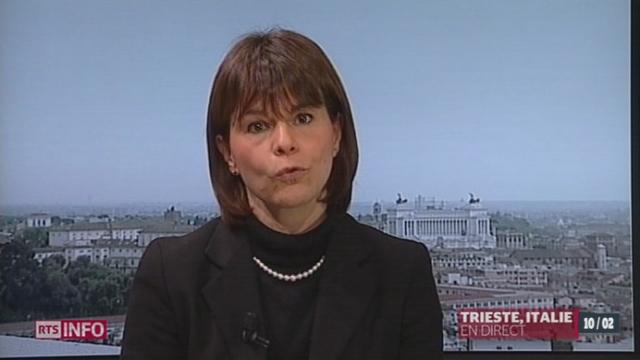 L'Italie est partagée face au vote des Suisses: les précisions de Valérie Dupont [RTS]