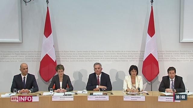 Le Conseil fédéral doit gérer les conséquences du scrutin des Suisses [RTS]