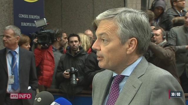 Bruxelles réagit suite à l'acceptation de l'initiative UDC [RTS]