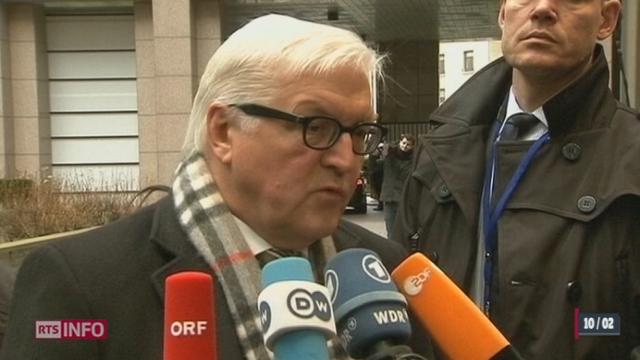 L'Union européenne réagit fortement en réponse à l'initiative UDC [RTS]