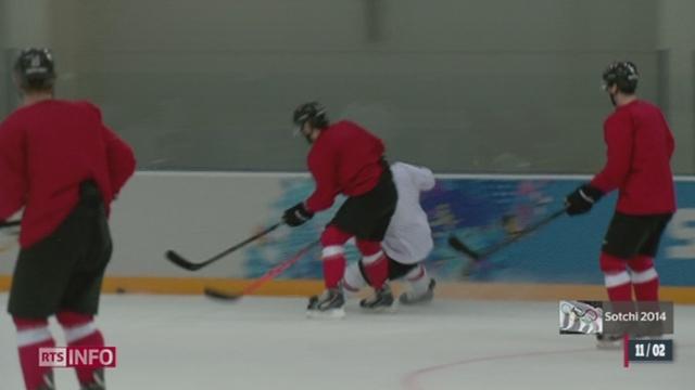 JO de Sotchi - Hockey: la Suisse peut espérer une médaille [RTS]