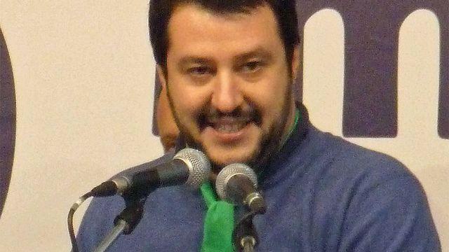 Le secrétaire fédéral de la Ligue du Nord Matteo Salvini. [Fabio Visconti - CC-BY-SA]