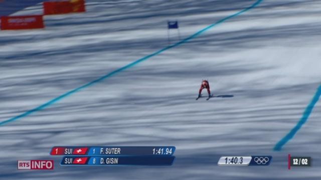 JO de Sotchi - Ski: Dominique Gisin est championne olympique de descente [RTS]