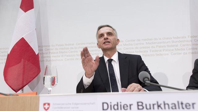 Didier Burkhalter. [Lukas Lehmann - Keystone]