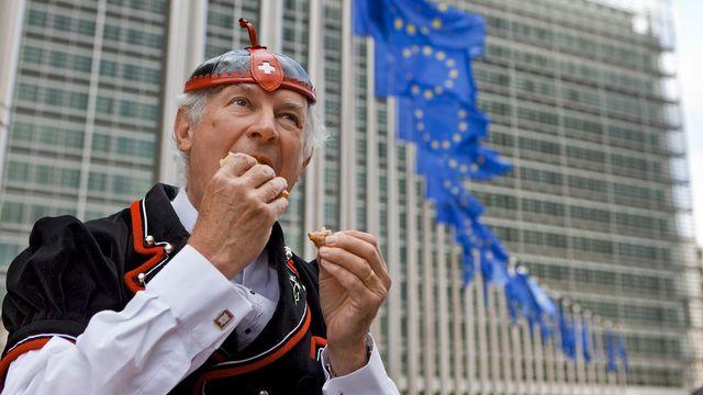 La Suisse a quelques atouts à faire valoir lors des négociations avec l'UE. [Martin Ruetschi - Keystone]