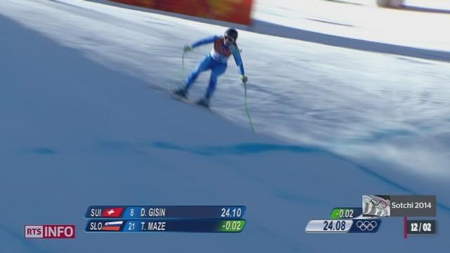 Victoire de Dominique Gisin: retour sur la descente de la skieuse [RTS]