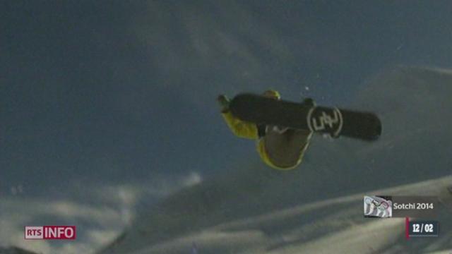 JO de Sotchi - Snowboard: Iouri Podladtchikov est champion de half-pipe [RTS]