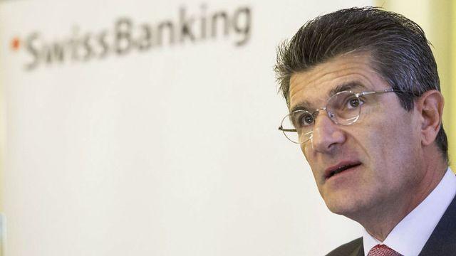 Patrick Odier, président de l'Association suisse des banquiers (ASB). [Ennio Leanza - Keystone]