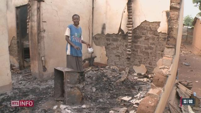 Centrafrique: la ville de Bangui connaît une ségrégation religieuse [RTS]