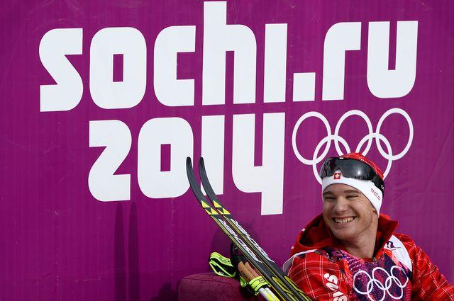 Inarrêtable Dario Cologna, qui compte désormais 3 titres olympiques à son palmarès. [AFP]