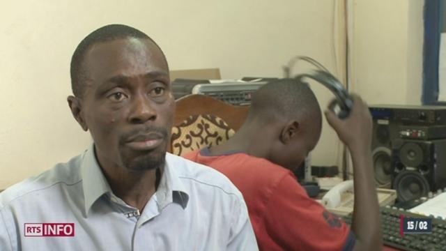 Centrafrique: la radio N'deke Luka, soutenue par la fondation suisse Hirondelle, est un exemple d'unité nationale [RTS]