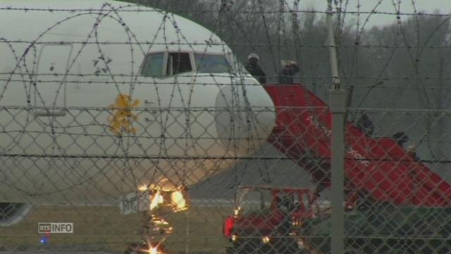 Détournement d'un avion à Genève [RTS]