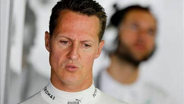 Michael Schumacher. [EPA/Diego Azubel]