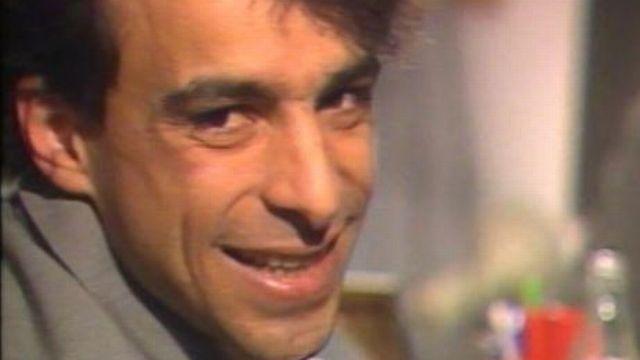 L'animateur humoriste Gérard Mermet en 1985. [RTS]