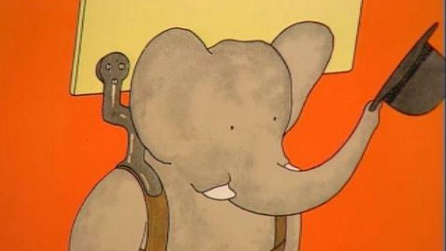 Babar l'éléphant. [RTS]