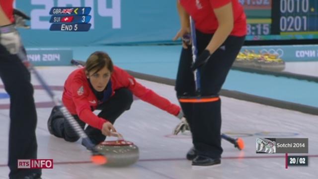 JO de Sotchi - Curling: les Britanniques remportent le bronze face aux Suissesses [RTS]