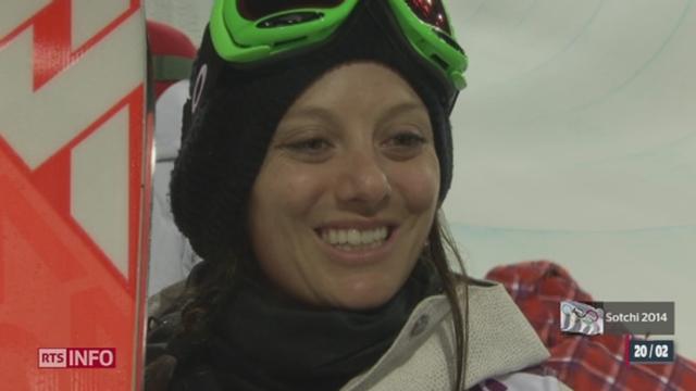 JO de Sotchi - Freeride halfpipe: la vaudoise Virginie Faivre est en lice [RTS]