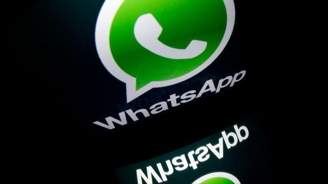 Le nombre d'utilisateurs de WhatsApp a doublé en un an, passant de 200 à 450 millions. [AFP]