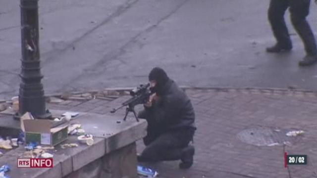 Ukraine: c'est le chaos à Kiev [RTS]