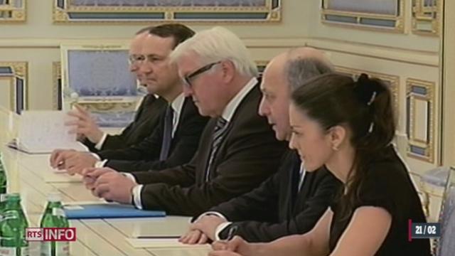 Ukraine: le gouvernement est prêt à faire des concessions [RTS]