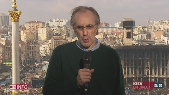 Concessions du gouvernement ukrainien: les précisions de Pierre Avril, journaliste au Figaro [RTS]