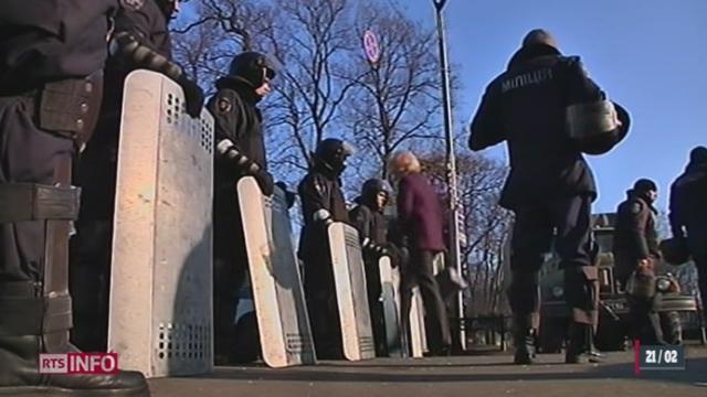 Ukraine: la situation reste explosive [RTS]
