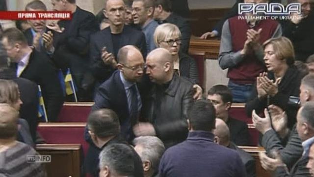 Un nouveau proche de Timochenko élu par le Parlement [RTS]