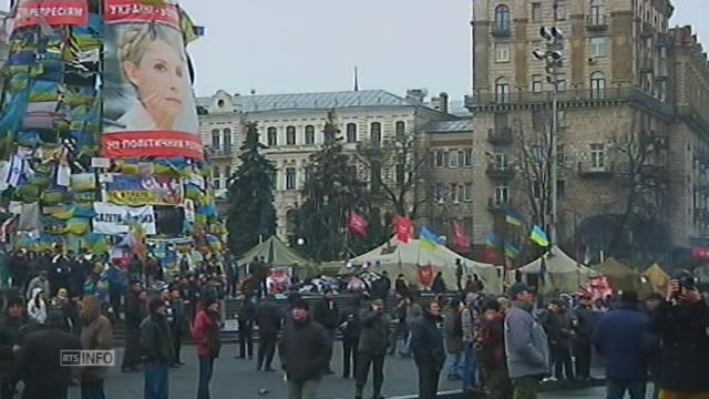 Le jour d'après à Kiev [RTS]