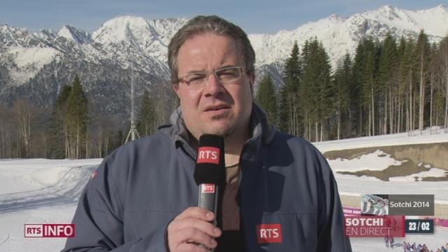 JO de Sotchi -  défaite de Dario Cologna en ski de fond:  les précisions de Jean-Marc Rossier [RTS]