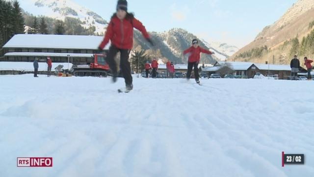 JO de Sotchi - Ski de fond: Dario Cologna fait redécouvrir le ski de fond à la Suisse romande [RTS]