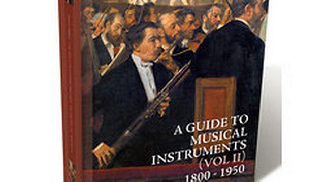 """""""Le guide des instruments de musique"""", volume 2, de Jérôme Lejeune. [Ricercar]"""