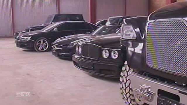 Un garage de luxe de Ianoukovitch [RTS]