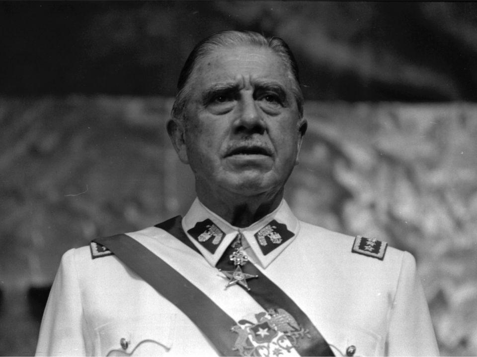Le général chilien Augusto Pinochet. [Biblioteca del Congreso Nacional de Chile, CC]